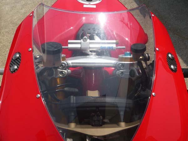Ducati 848 1098 1198 ミラーブロックオフ